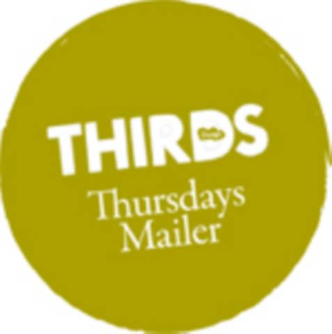 Thursday Mailer - Thirds Design