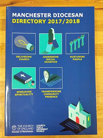 Manchester Diocesan Directory now on Sale in MU Shop